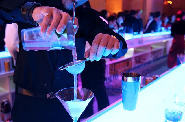 bar, food