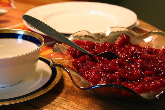 cranberry sauce, food