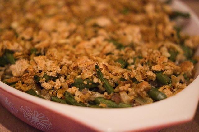 green bean casserole, food