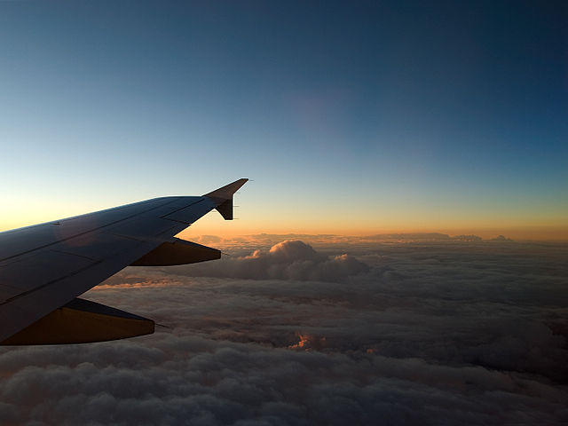 Source: Wikimedia Commons (http://commons.wikimedia.org/wiki/File:Watching_clouds_from_an_airplane_(2093712323).jpg)