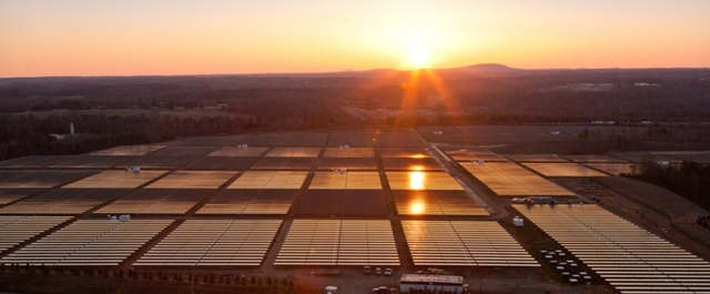 Apple solar farm Maiden NC
