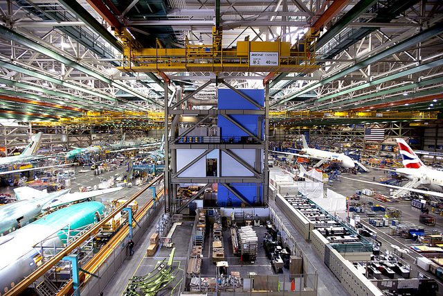 Boeing Factory