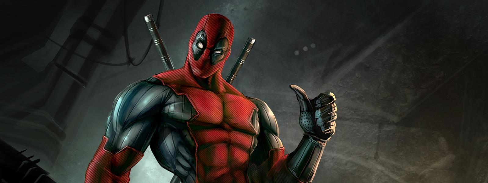 Deadpool, marvel, comics, superhero suit