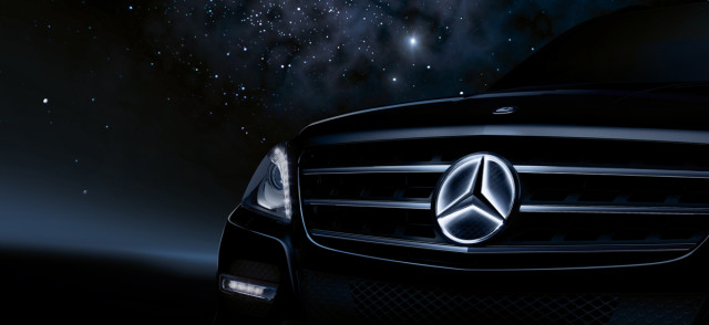 Mercedes Illuminated Star
