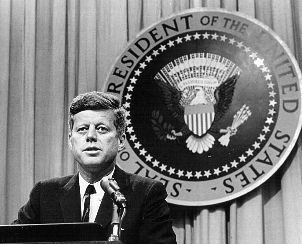 President John F. Kennedy