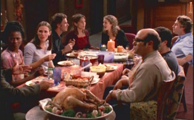 Felicity, Thanksgiving, tv show