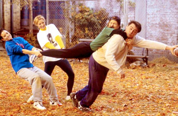 Friends, tv show, Thanksgiving