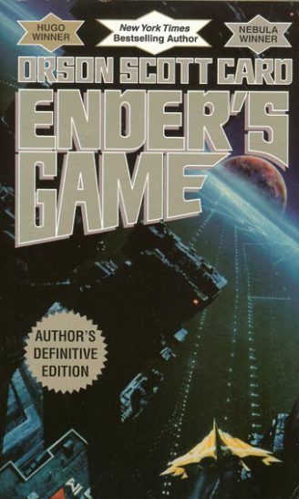 enders game, orson scott card, book