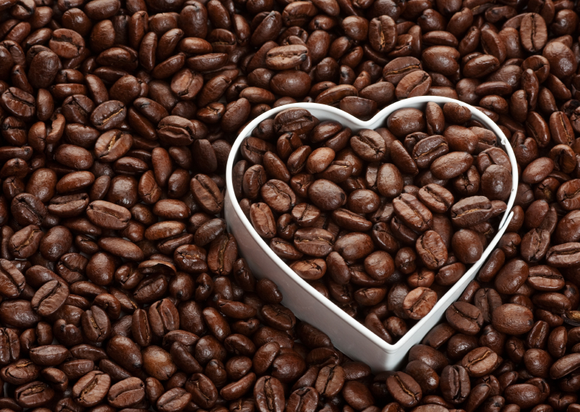 Drinking coffee reduces heart disease risk.