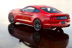 For the Ford Mustang, The World Is Seen In Black And Red