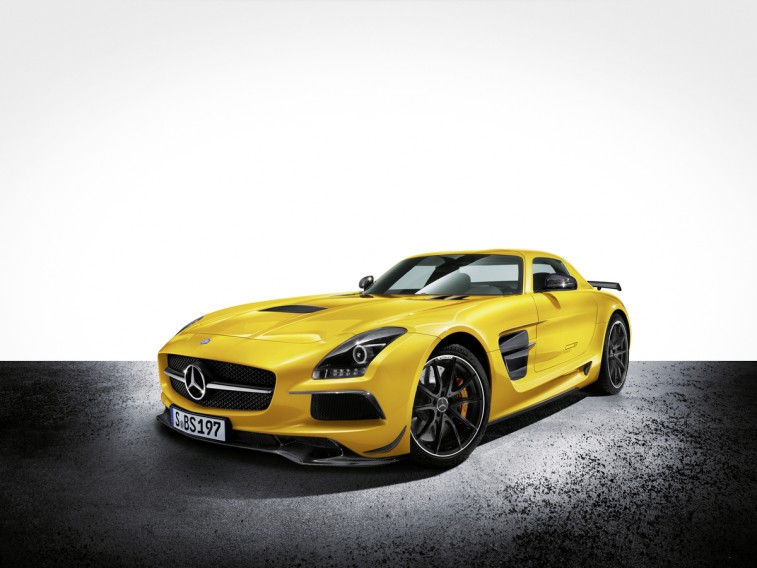 2014 Mercedes SLS AMG Black Series supercar