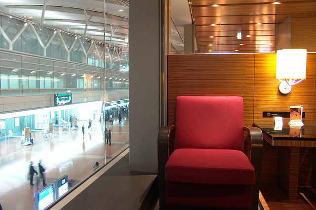 airport lounge, travel