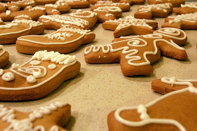 Gingerbread, Christmas, food, holidays