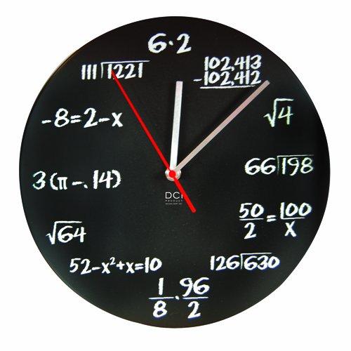 Math, clock, holidays, gift