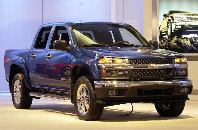 The Chevrolet Colorado Z71 truck with it