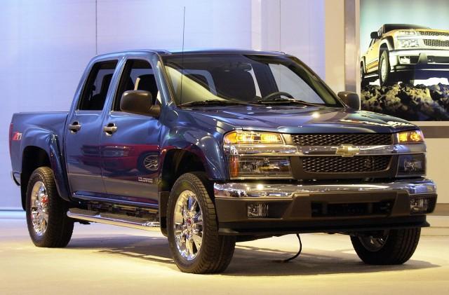 The Chevrolet Colorado Z71 truck