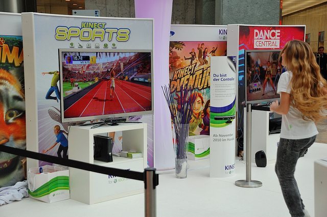 kinect, Xbox, video game
