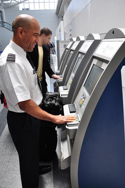 airport kiosk, travel, airline