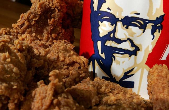 bucket of KFC