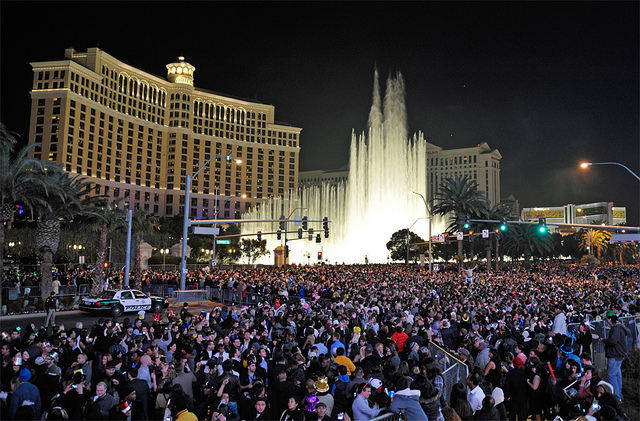 Las Vegas, New Year's
