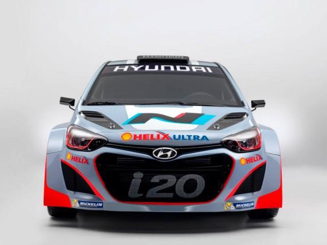 Hyundai i20 Front