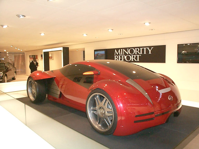 Credit: http://en.wikipedia.org/wiki/File:Lexus_2054_Minority_Report_concept.jpg
