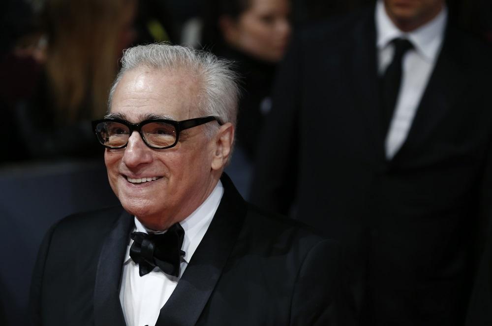 Martin Scorsese in a tuxedo.