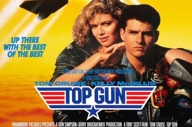 Top Gun movie poster, Christine Fox