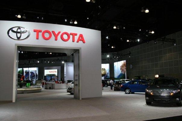 Toyota Logo Autoshow