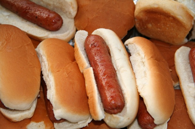 Hot Dogs in buns