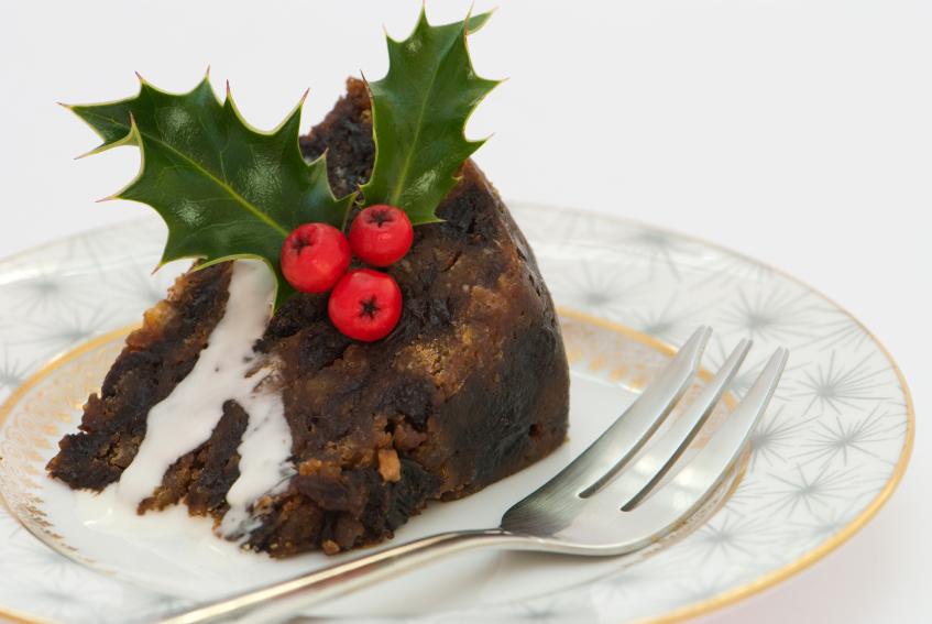 Christmas Pudding Slice, cake