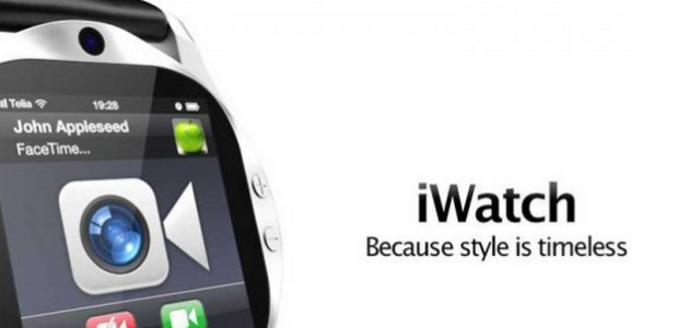 iWatch concept -- Source: iWatch concept, Anders Kjellberg / dogday-design.se