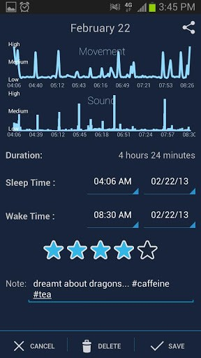 Sleep Schedule app