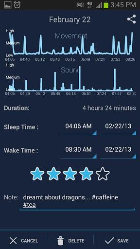 Sleep Schedule app