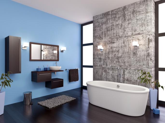 Refinishing a bathtub