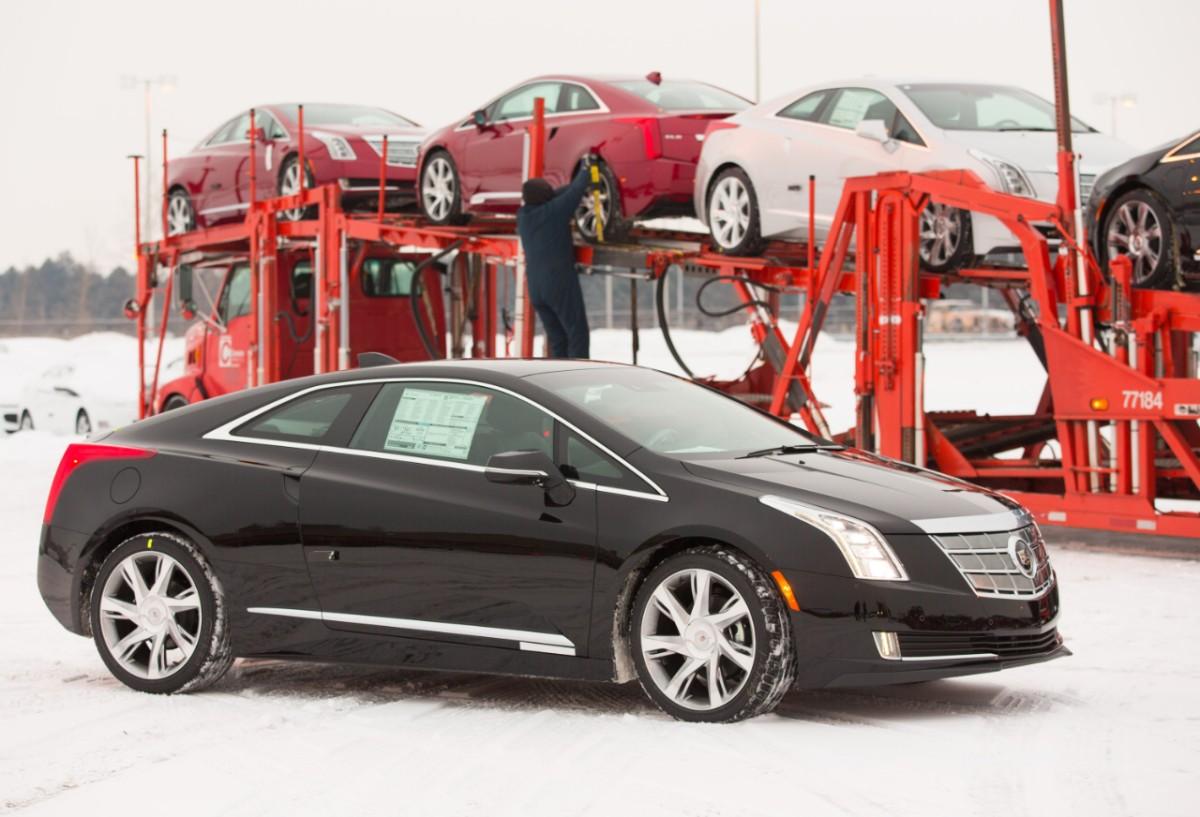 Cadillac ELR delivery