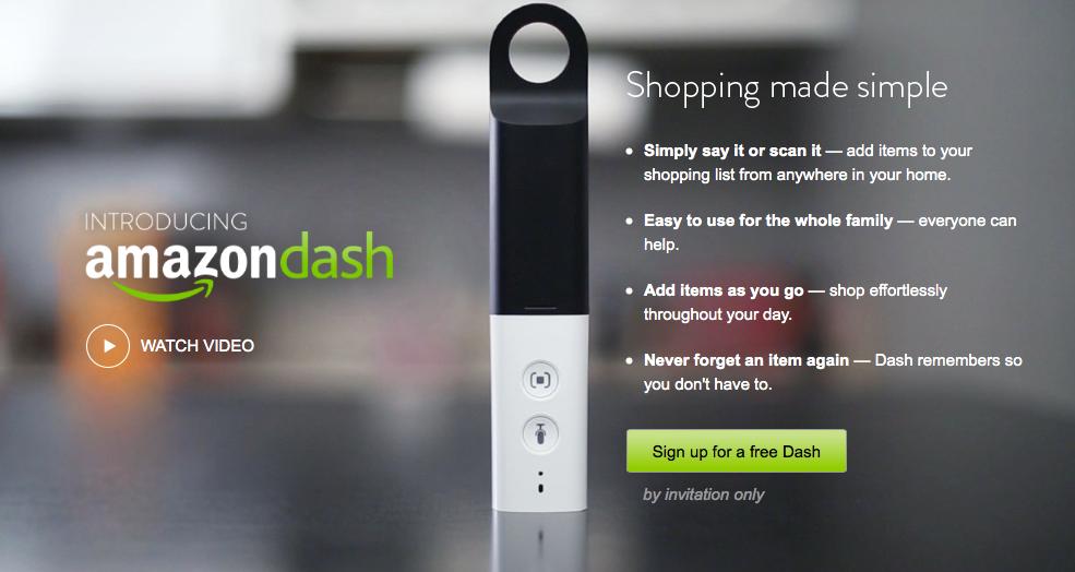 Amazon, Amazon Dash