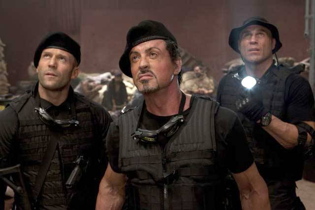 'The Expendables' Trailer Promises More Explosions, More Former Action Stars