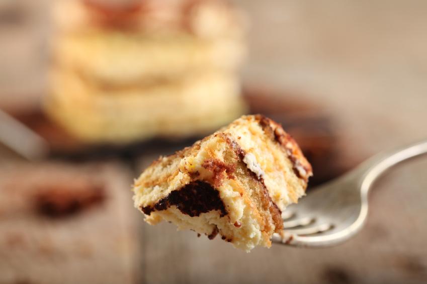 Tiramisu Cake Bite