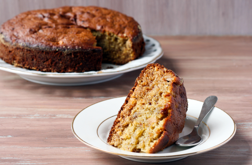Ginger spice coffee cake