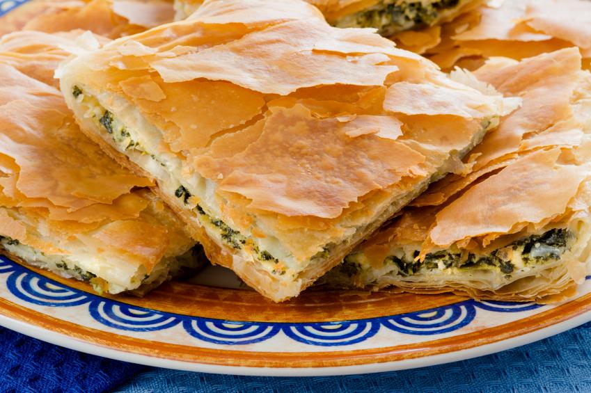 Spanakopita, Greek spinach pie