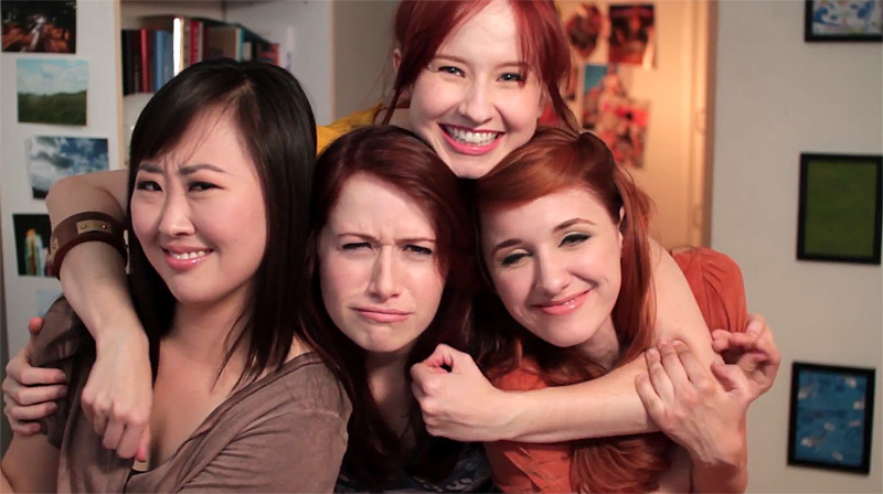 The Lizzie Bennet Diaries, YouTube