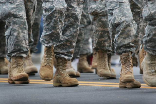 armed forces, marching