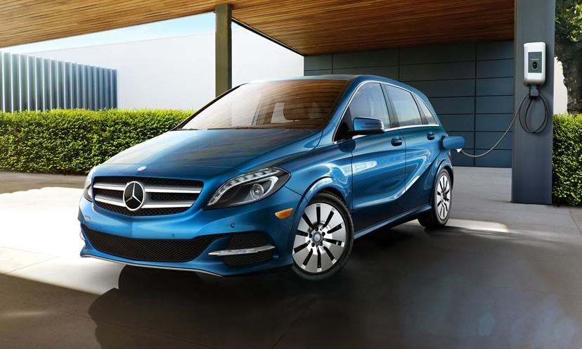 Mercedes B CLass electric