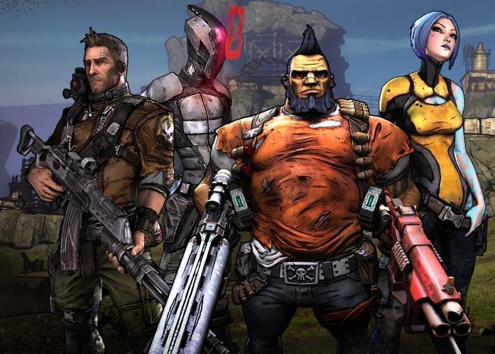 Borderlands-2-characters