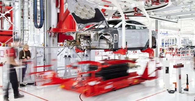 Tesla plant