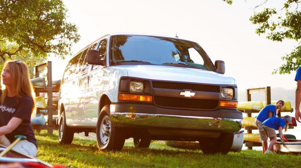 chevy express passenger van