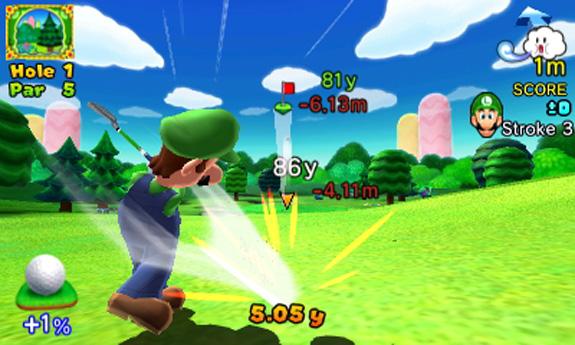 Mario Golf: World Tour video game