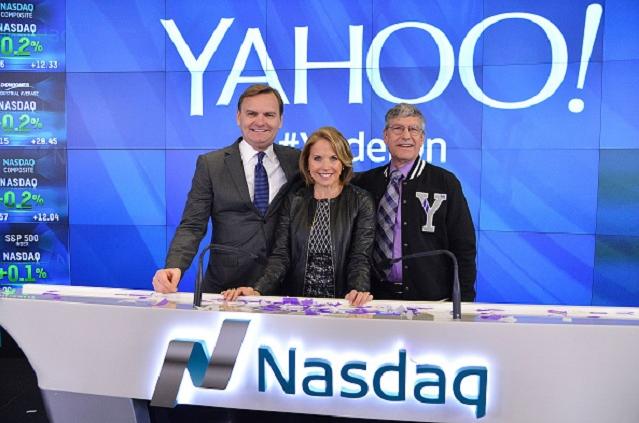 Yahoo! Inc. Celebrates 20 Years at Nasdaq - Source:  Slaven Vlasic/Getty Images