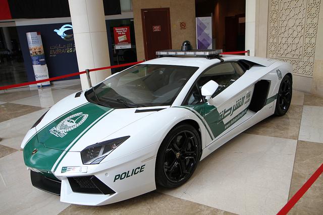 Insane Supercars In The Dubai Police Fleet